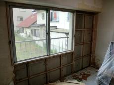 施工中の写真1